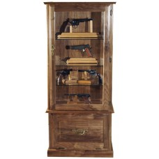 #1053w Premium Solid Walnut Display Tower